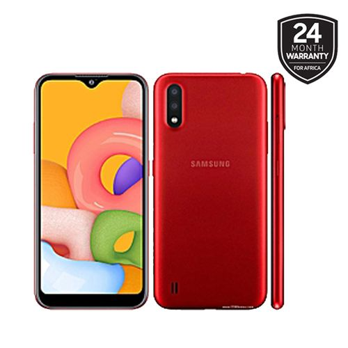 23 Samsung Galaxy A01 red image gallery