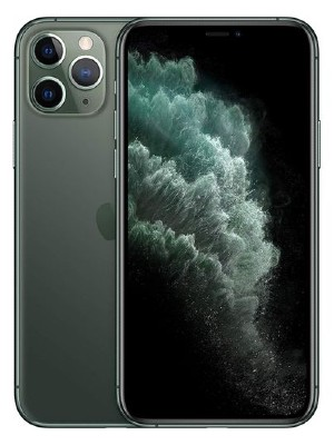 iphone 11 pro 256gb midnight green new