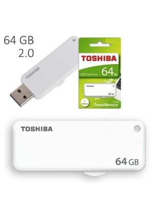 TOSHIBA 64GB (WHITE)SLIDE new