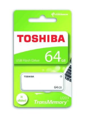 TOSHIBA 64GB (WHITE)SLIDE. a new