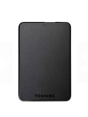 TOSHIBA EXTERNAL HARD DRIVE 500GB (BLACK)new
