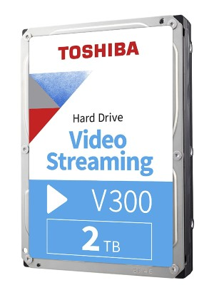 TOSHIBA INTERNAL (2TB VIDEO) V300. anew