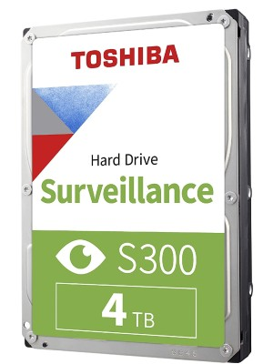TOSHIBA INTERNAL 4TB S300 new