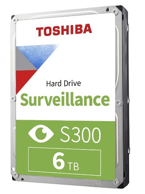 TOSHIBA INTERNAL 6TB S300 new
