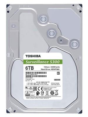 TOSHIBA INTERNAL 6TB S300. a new