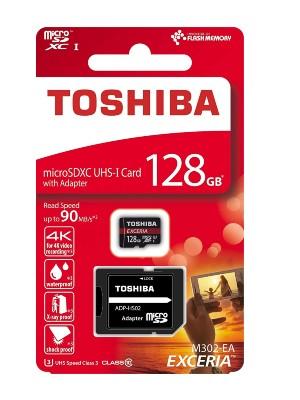 Toshiba Memory Card – Micro SD Card – 128GB. anw