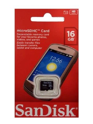 sandisk 16gb mc new
