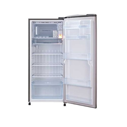 LG 215Ltrs Compact Tempered Glass One Door Refrigerator 221ALLB, a